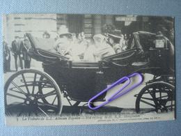 ANVERS : Retour Du CONGO Du Prince ALBERT. La Voiture De L.L. Altesses Royales En 1909 - Familles Royales