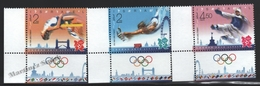Israel 2012  Yv. 2200-02, London Summer Olympic Games – Tab - MNH - Israel