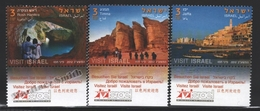 Israel 2012  Yv. 2211-13, Tourism In Israel (II) – Tab - MNH - Israel