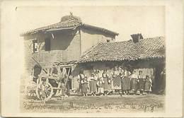 Pays Div -ref T644- Guerre 1914-18 - Macedoine - Environs De Monastir - Nid De Cigognes -carte Photo - Photo Postcard - - Macédoine