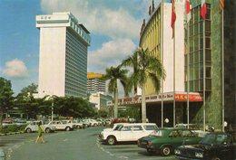 Singapore  ....hilton Hotel  And Lido  Cinema - Singapore