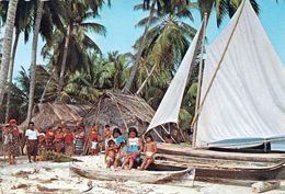 1 AK Panama * Cunas Indians Von Den San Blas Inseln - Heute Heißt Die Inselgruppe Comarca Guna Yala * - Panama