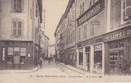 [38] Isère > Saint-Marcellin Grande Rue  Commerces - Saint-Marcellin