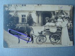 L.L.A.A.R.R. Mme La Duchesse De Vendôme Et Les Princesses MARIE-MOUISE, SOPHIE Et Geneviève D'Orléans  En 1903 - Familles Royales