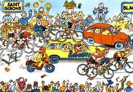 LES GRANDES ETAPES DU TOUR DE FRANCE 1984 - 12 è ETAPE SAINT GIRONS - BLAGNAC (BANANIA) - Cyclisme