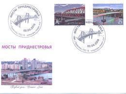 2018. Transnistria, Bridges Of Transnistia, FDC, Mint/** - Moldova