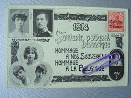 Souvzenir National Historique  En Octobre 1914 - Familles Royales