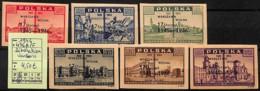 D - [824054]TB//*/Mh-Pologne 1946 - N° 467A/F, Libération, Varsovie - Neufs