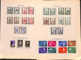 D - [824124]B/TB//O/Used-Pologne 1959 - Petit Lot Obl/Used, Célébrités, Musique, Jeux Olympiques - Oblitérés