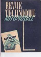 Revue Technique Automobile N° Réédité - 2 CV CITROËN Tous Types. - Auto/Moto