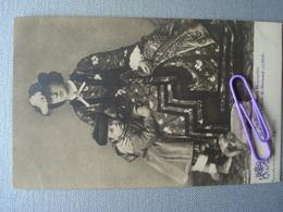 Sa Majesté MARIE HENRIETTE Et S.A.R. Le Comte De  HAINAUT En 1864 - Familles Royales