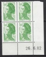 N° 2219 - X X - Daté 26/06/82 - Dated Corners