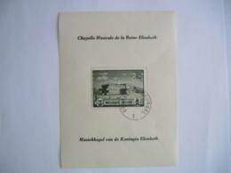 België Belgique 1941 Muziekkapel Koningin Elisabeth Chapelle Musicale Reine Elisabeth BL13 537A O - Blokken 1924-1960