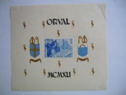 België Belgique 1941 Abdij Orval Abbaye D'Orval Dentelée Getand BL11 567A MH * Charnière  2de Keus 2 E Choix - Blocks & Sheetlets 1924-1960