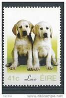 Irlande 2003 N°1484 Neuf **  Timbres D'amour, Chiens - 1949-... République D'Irlande