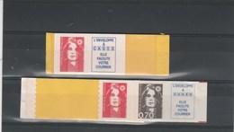 Yvert 2874b **  + 2874ca ** Marianne Bicentenaire De Briat - 1989-96 Marianne Du Bicentenaire
