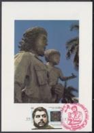 TMA-188 CUBA 2005 SPECIAL CANCEL MAXIM CARD ERNESTO CHE GUEVARA. 40 ANIV GUERRILLA EN EL CONGO - Tarjetas – Máxima