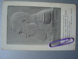 Reproduction Du Bas Relief Exécuté Par JOSEPH FISCH De Sa Majesté Léopold II Roi Des BELGES - Familles Royales