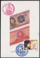 TMA-204 CUBA 2005 SPECIAL CANCEL MAXIM CARD ERNESTO CHE GUEVARA. 40 ANIV GUERRILLA EN EL CONGO. - Tarjetas – Máxima