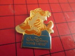 Sp15vrai Pin's Pins / Rare Et Beau : THEME DISNEY / WALT DISNEY HOME VIDEO DESSIN ANIME LIVRE DE LA JUNGLE SHERE KHAN - Disney