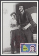TMA-216 CUBA 2005 SPECIAL CANCEL MAXIM CARD ERNESTO CHE GUEVARA. 40 ANIV GUERRILLA EN EL CONGO. - Tarjetas – Máxima