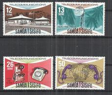 SAMOA AND SISIFO 1981 - TELECOMMUNICATIONS DAY - CPL. SET - MNH MINT NEUF NUEVO - Samoa