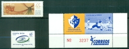Costa Rica - 2001/2006 - Yt 690 - 706 - 784 - ** - Costa Rica