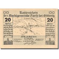 Billet, Autriche, Furth, 20 Heller, Château 1920-05-20, SPL Mehl:FS 214aB - Austria
