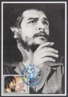 TMA-241 CUBA 2005 MAXIM CARD ERNESTO CHE GUEVARA. 40 ANIV GUERRILLA EN EL CONGO. - Tarjetas – Máxima