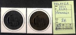 D - [825048]TB//**/Mnh-Malaisie 1971 - N° 82/83,  Monnaies - Malaysia (1964-...)