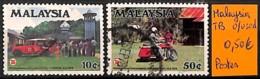 D - [825051]TB//O/Used-Malaisie  - Tb Lot Obl/Used, Poste - Malaysia (1964-...)