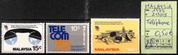 D - [825055]TB//**/Mnh-Malaisie 1979 - N° 213/15, Téléphone - Malaysia (1964-...)