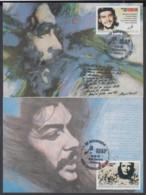 TMA-251 CUBA 2007 MAXIM CARD COMPLETE SET ERNESTO CHE GUEVARA. 40 ANIV ICAP. - Tarjetas – Máxima