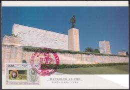 TMA-254 CUBA 2005 MAXIM CARD ERNESTO CHE GUEVARA. 40 ANIV GUERRILLA EN EL CONGO - Tarjetas – Máxima