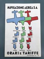 Time Table - Navigazione Aera S.Ai - Roadmaps