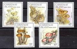 Serie De Islas Navidad N ºYvert 189/93 ** SETAS(MUHROOMS) - Christmas Island