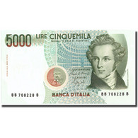 Billet, Italie, 5000 Lire, 1985, 1985, KM:111b, SPL - [ 2] 1946-… : Repubblica