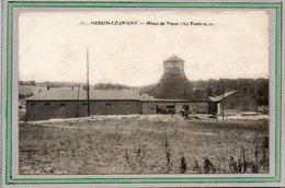 CPA - HERSIN-COUPIGNY (62) - Aspect Du Chevalement De La Fosse N°6 Des Mines De Noeux En 1914 - France