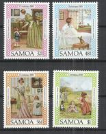 SAMOA 1985 - CHRISTMAS - CPL. SET - MNH MINT NEUF NUEVO - Samoa