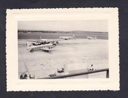 Photo Originale Avion Vickers Viking British European Airways Aeroport Bourget Airport - Aviation