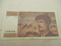 20 FR  DEBUSSY  1995 - 1962-1997 ''Francs''