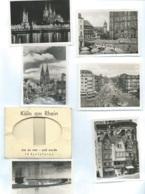 Köln Am Rhein - Wie Es War - Und Wurde , 12 Kleinfotos     - Bpho18 - Reproductions