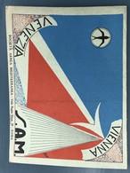 Airlines Routes S.A.M Vienna - Venezia - Cartes Routières