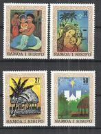 SAMOA AND SISIFO 1980 - CHRISTMAS - CPL. SET - MNH MINT NEUF NUEVO - Samoa