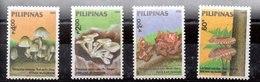 Serie De Filipinas Nº Yvert 1533/36 ** SETAS(MUHROOMS) - Filipinas
