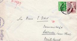 22.IX 1941 Geopende En Gecensureerde Brief Van Utrecht-Station  Naar Schladen (Afzender  A.D.KAMP IV-Maarssen - Period 1891-1948 (Wilhelmina)