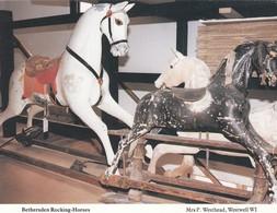 Postcard Bethersden Rocking Horses Nr Ashford  By East Kent W.I. My Ref  B23633 - Games & Toys