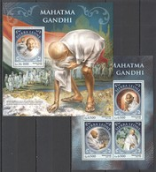 ST397 2016 SIERRA LEONE FAMOUS PEOPLE MAHATMA GANDHI KB+BL MNH - Mahatma Gandhi