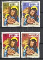 SAMOA AND SISIFO 1968 - CHRISTMAS - CPL. SET - MNH MINT NEUF NUEVO - Samoa