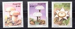 Serie De Paraguay Nº Yvert 2753/55 ** SETAS(MUHROOMS) - Paraguay